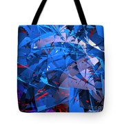 Abstract Curvy 9 Tote Bag
