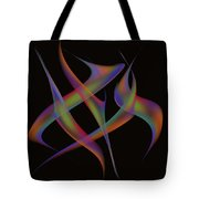 Abstract Dancers Tote Bag