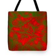 Abstract Dandelion Bloom Tote Bag