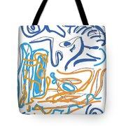 Abstract Digital Tote Bag