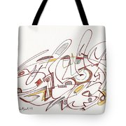 Abstract Drawing Fifteen Tote Bag
