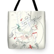 Abstract Drawing Fifty-five Tote Bag