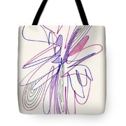 Abstract Drawing Fifty-six Tote Bag