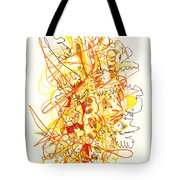 Abstract Drawing Fifty-three Tote Bag
