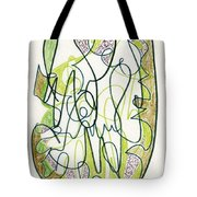 Abstract Drawing Forty-four Tote Bag