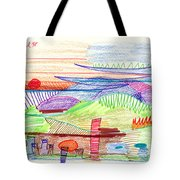 Abstract Drawing Four Tote Bag