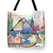 Abstract Drawing One Tote Bag