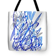 Abstract Drawing Seventy Tote Bag