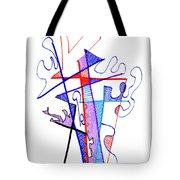Abstract Drawing Sixty-nine Tote Bag