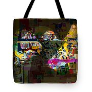 now You raised my head above my surrounding enemies 7b f Tote Bag