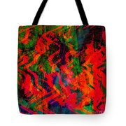 Abstract - Emotion - Rage Tote Bag
