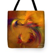 Abstract Fine Art Print High Spirits Tote Bag