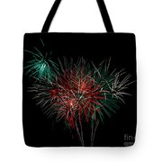 Abstract Fireworks Tote Bag by Robert Bales