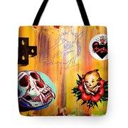 Abstract Flash  Tote Bag