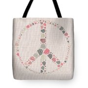 Peace Symbol Design - S77bt01 Tote Bag