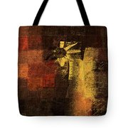Abstract Floral - A8v46bt2a Tote Bag