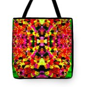 Abstract Floral Duvet Tote Bag