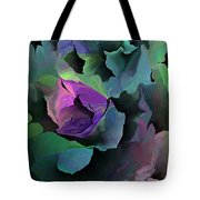 Abstract Floral Expression 041213 Tote Bag