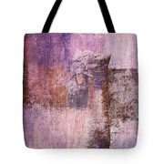 Abstract Floral- I55bt2 Tote Bag