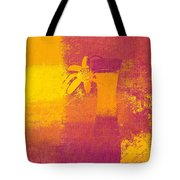 Abstract Floral - M31at1b Tote Bag by Variance Collections