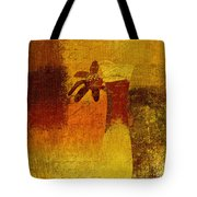 Abstract Floral - P01bt01c11c Tote Bag