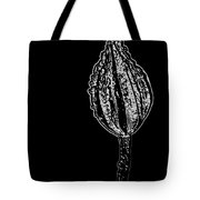 Abstract Flower Bud Tote Bag