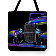 Abstract Ford - Classic Hotrods Tote Bag