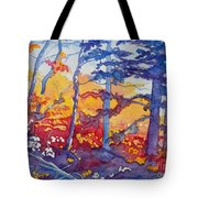Abstract Forest No. 1 Tote Bag
