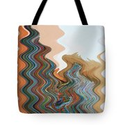 Abstract  Four Of Twenty One Tote Bag