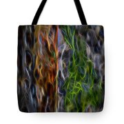 Abstract From The Sea Tote Bag