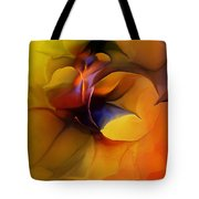 Abstract From Within Tote Bag