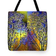 Abstract Fusion 100 Tote Bag by Will Borden