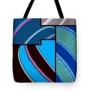Abstract Fusion 143 Tote Bag