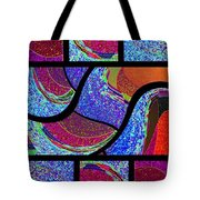 Abstract Fusion 168 Tote Bag