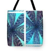 Abstract Fusion 170 Tote Bag
