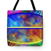 Abstract Fusion 173 Tote Bag