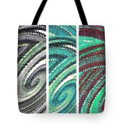 Abstract Fusion 180 Tote Bag