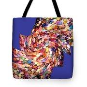 Abstract Fusion 189 Tote Bag