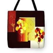 Abstract Fusion 192 Tote Bag