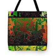 Abstract Fusion 193 Tote Bag