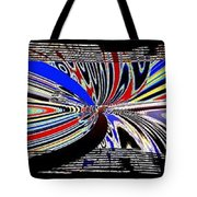 Abstract Fusion 197 Tote Bag