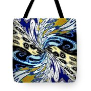 Abstract Fusion 198 Tote Bag