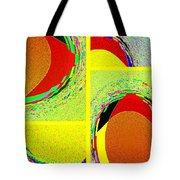 Abstract Fusion 199 Tote Bag