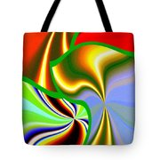 Abstract Fusion 200 Tote Bag