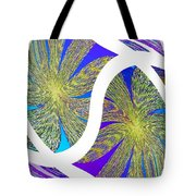 Abstract Fusion 203 Tote Bag