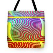 Abstract Fusion 205 Tote Bag