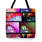 Abstract Fusion 214 Tote Bag