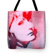 Abstract Garbo Tote Bag