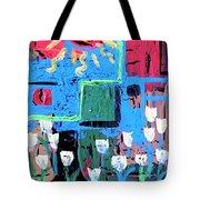 Abstract Garden Tote Bag