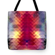 Abstract Geometric Spectrum Tote Bag
